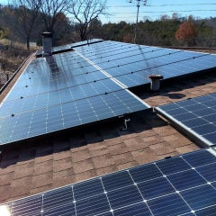 Washburn Solar PV w/Battery and Solar Water Heating