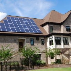 8.5 kW Grid-tied Solar System in Columbia, South Carolina