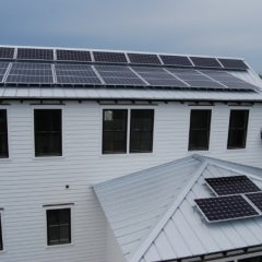 8.4 kW Grid-tied PV System in Sullivan's Island, South Carolina