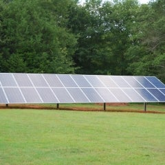 8.06 kW Solar Ground Mount Installation In Pendleton, SC