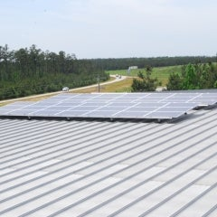 10.71 kW Bimodal Solar System with Battery Storage, Andrews, SC