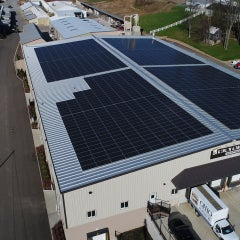 587 kW Roof Mount at Berlin Gardens in Berlin, OH