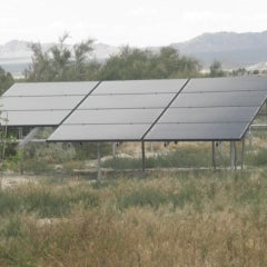 Ground mount Solar PV system