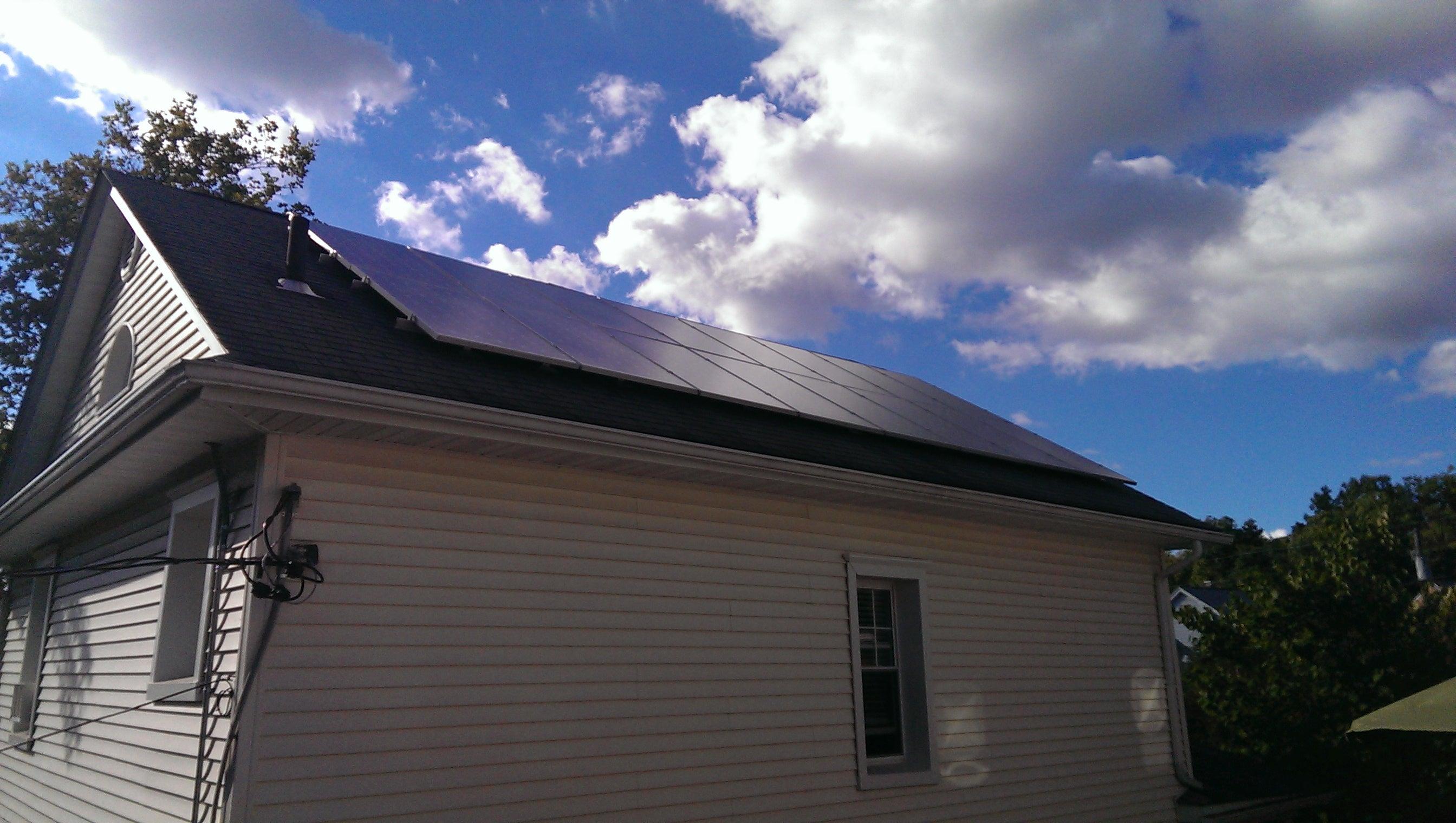 SunBlue Energy solar installation