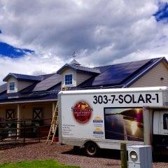 9.6 kW Barn roof mount.
