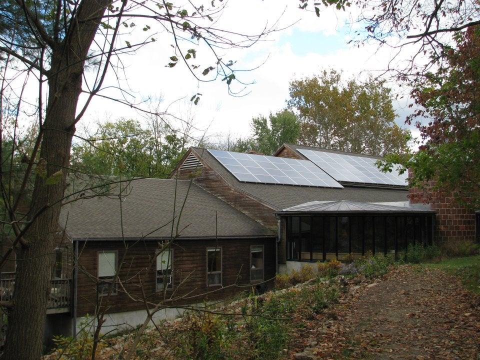 Ashland Nature Center has gone SOLAR!