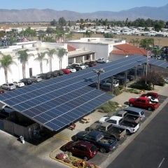 Auto Dealership Goes Solar