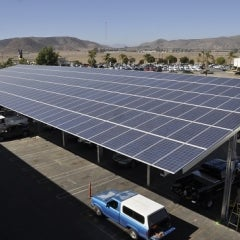 Solar On Parking Structures