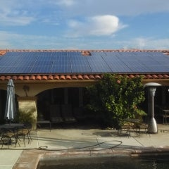 Upland Home Goes Solar