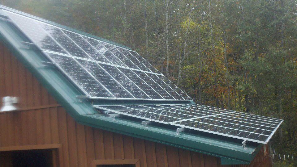 beautiful house and beautiful solar install!