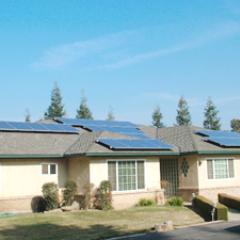 6.8 kW solar array saves $3,000 a year!