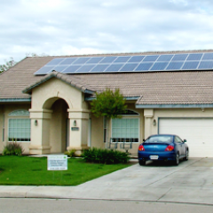 Great residential use of solar!