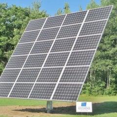 Twenty-Four Panel AllSun Tracker Solar Electric System in Harrison