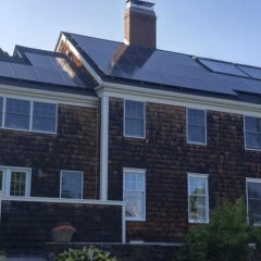 Thirty-Two Panel Solar Electric System in South Portland