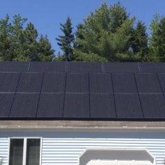 Twenty-Three Panel Solar Electric System in Harpswell