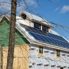 Eighteen Panel Solar Electric System in Limington