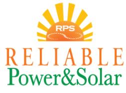 Reliable Power and Solar logo