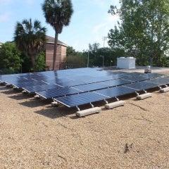 10 kW Ballast Mount PV In Gainesville,FL