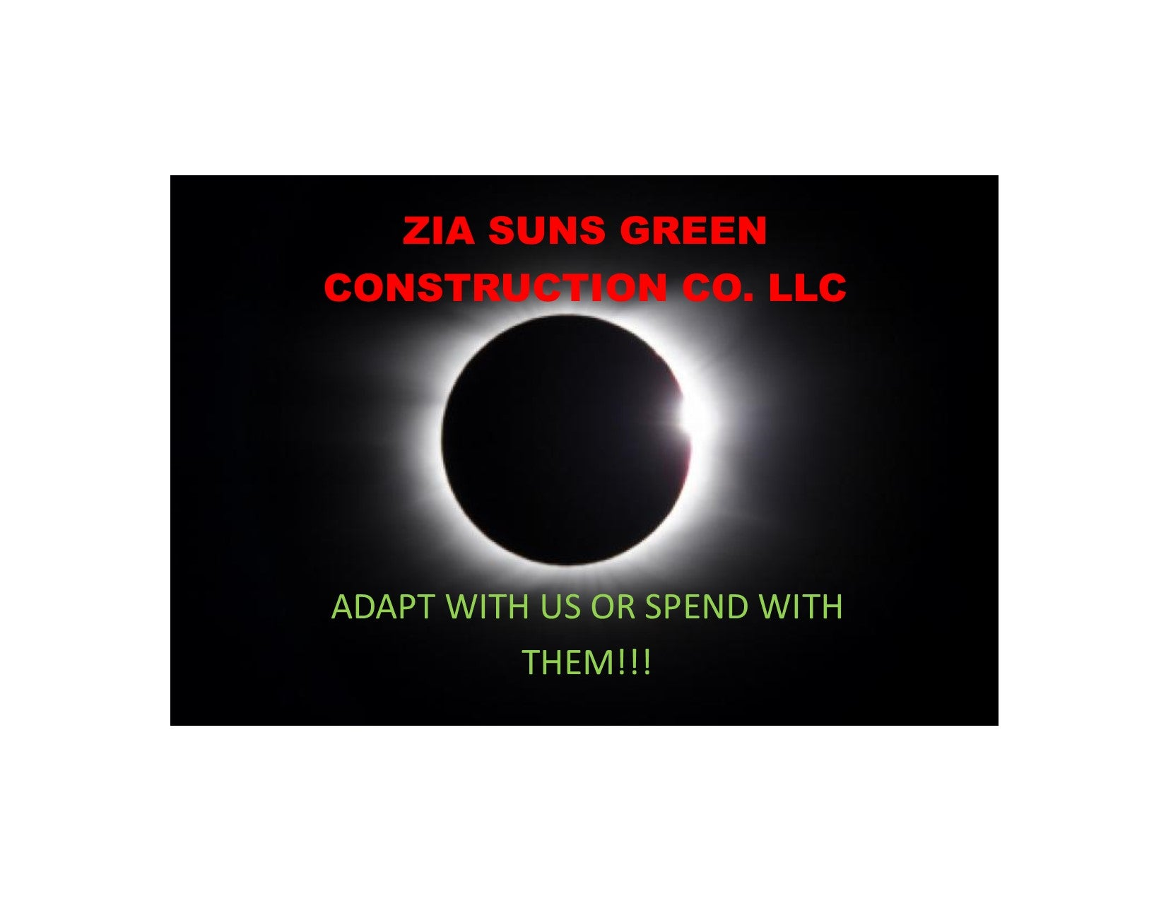 Zia Suns Green Construction Co. LLC