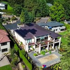 Solaria Solar System installed by Greenlight Solar