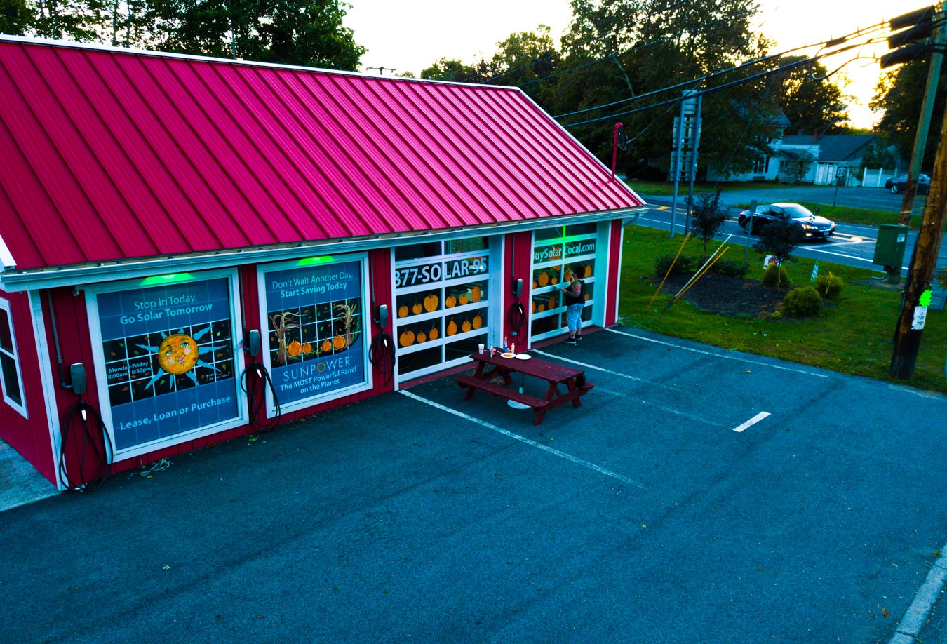 This is our Solar Design Center in Modena, NY