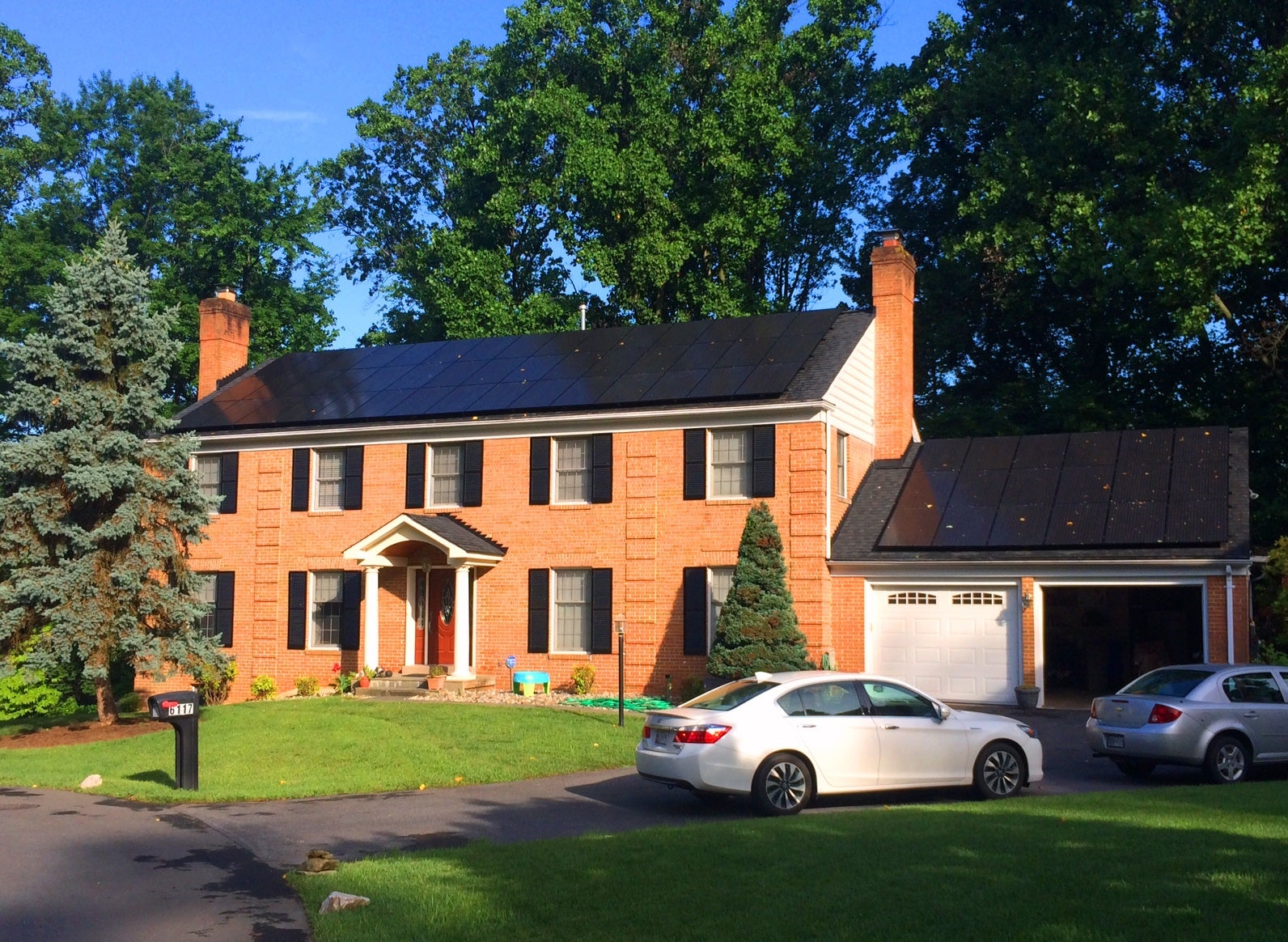 Beautiful 18 kW system generation 100%+ of our clients home energy needs!