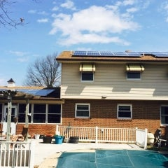 Wonderful system utilizing multiple arrays to cover 95% of electric bill in Frederick, MD