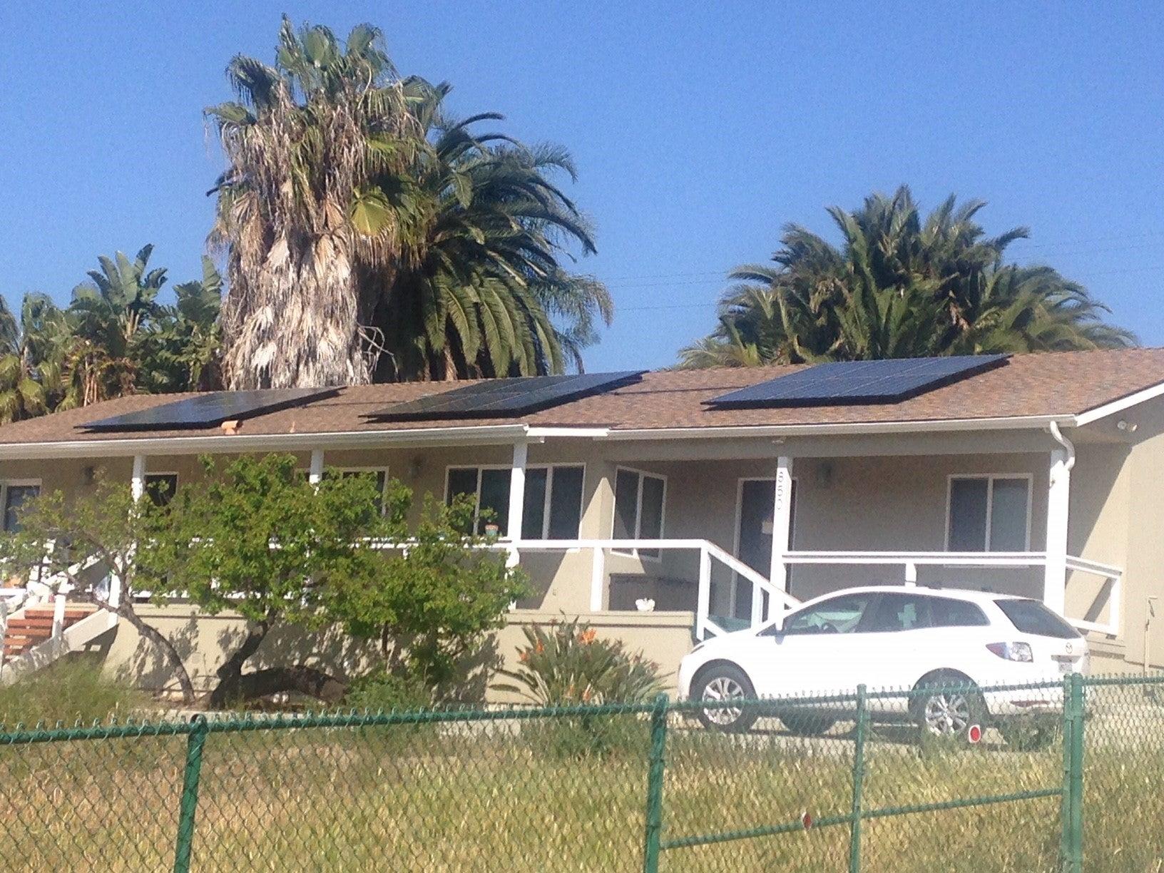 5.76 kW system Solana Beach