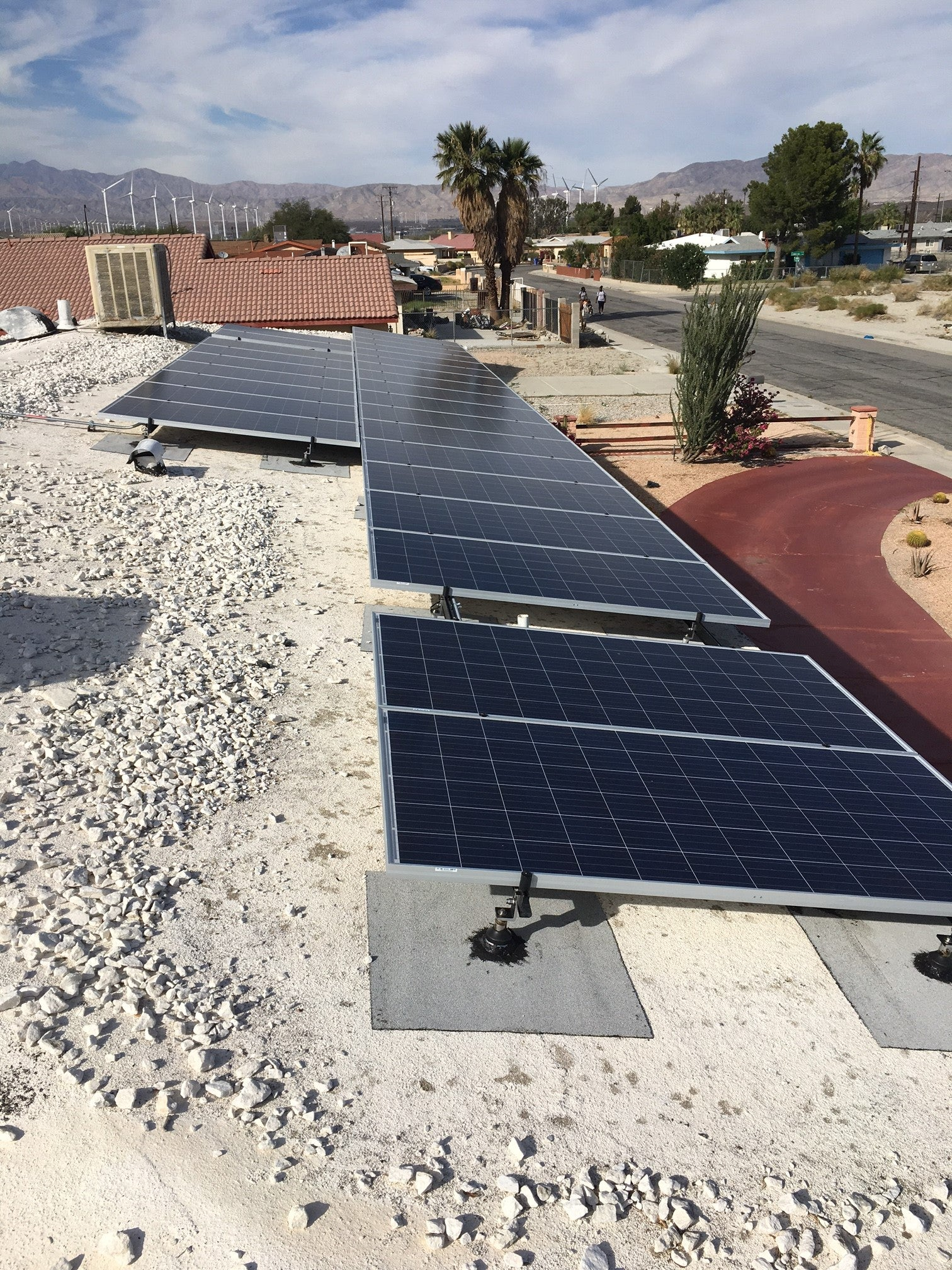 12.16 kW system Palm Springs