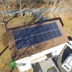 4.95kW Canadian Solar 275w Monocrystalline install in Millbury MA