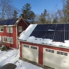 5.50kW Canadian Solar 275w Monocrystalline install in Holland MA