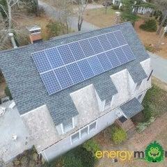 4.95kW Canadian Solar 275w Monocrystalline install in Marion MA