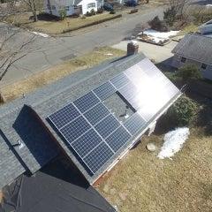 6.05kW Canadian Solar 275w Monocrystalline install in Florence MA