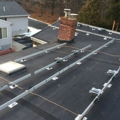 Enphase install Rubber Roof