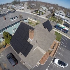 10.88kW LG320 / Enphase System installed in Worcester MA.