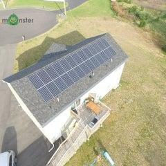 7.15kW Canadian Solar 275w Monocrystalline install in Webster MA