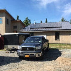 Solar for new standing seam metal roofs works well.