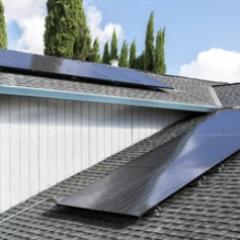 Solar Roof Close Up