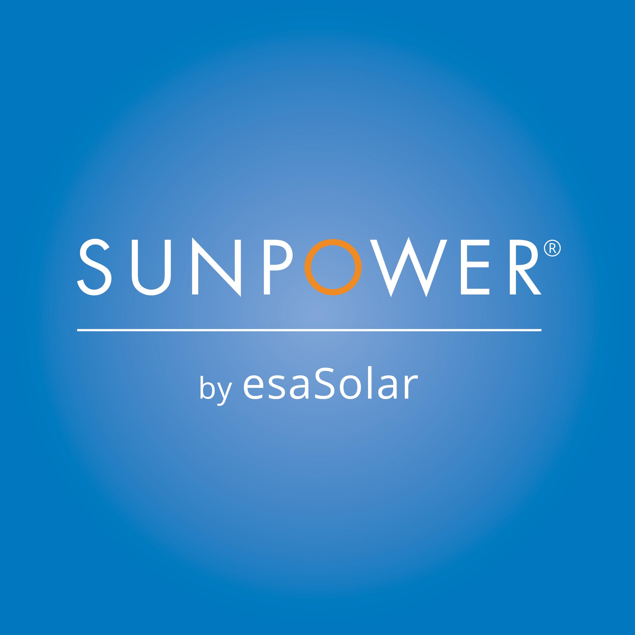SunPower by esaSolar logo