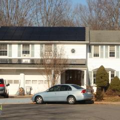 Front of home solar in VA