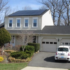 Renovated home with solar