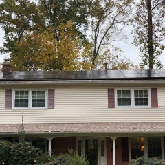 Solar blends in and saves money