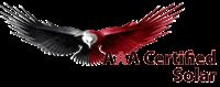 AAA Certified Solar logo