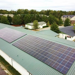 65 kW Solar Array