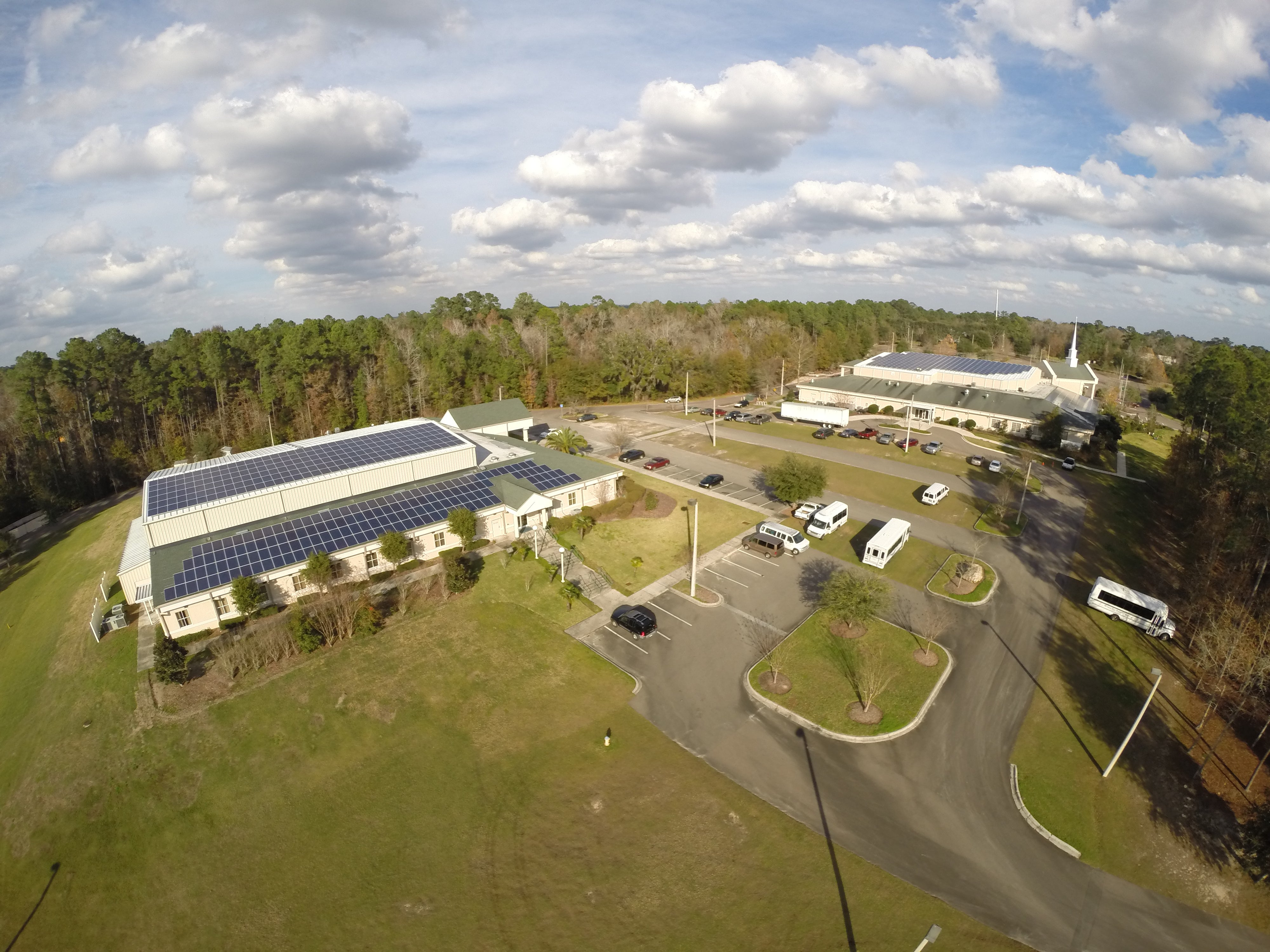 315 kW Roof Mounted PV System in Gainesville, FL
