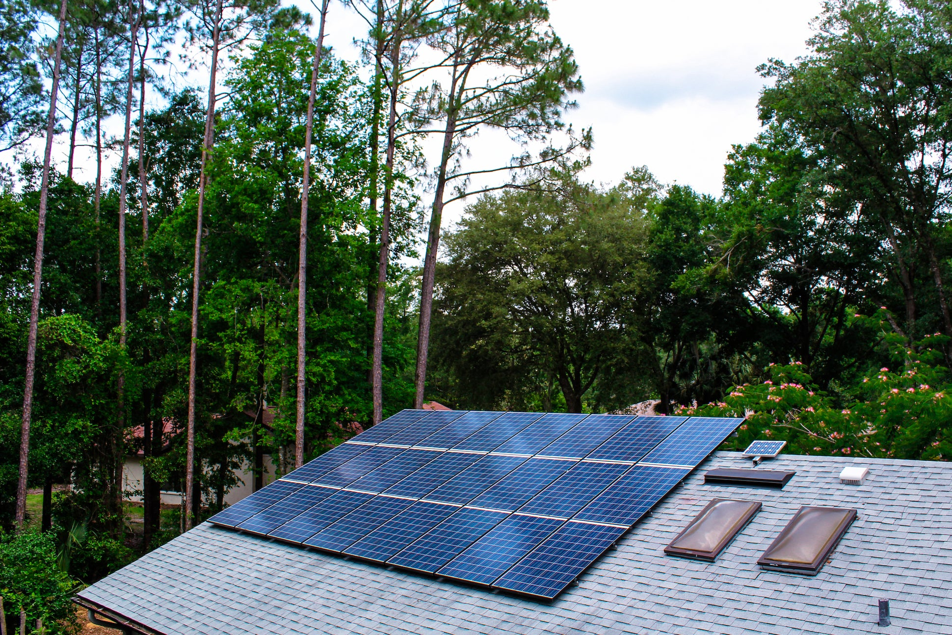 Roof Mounted PV System in Gainesville, FL