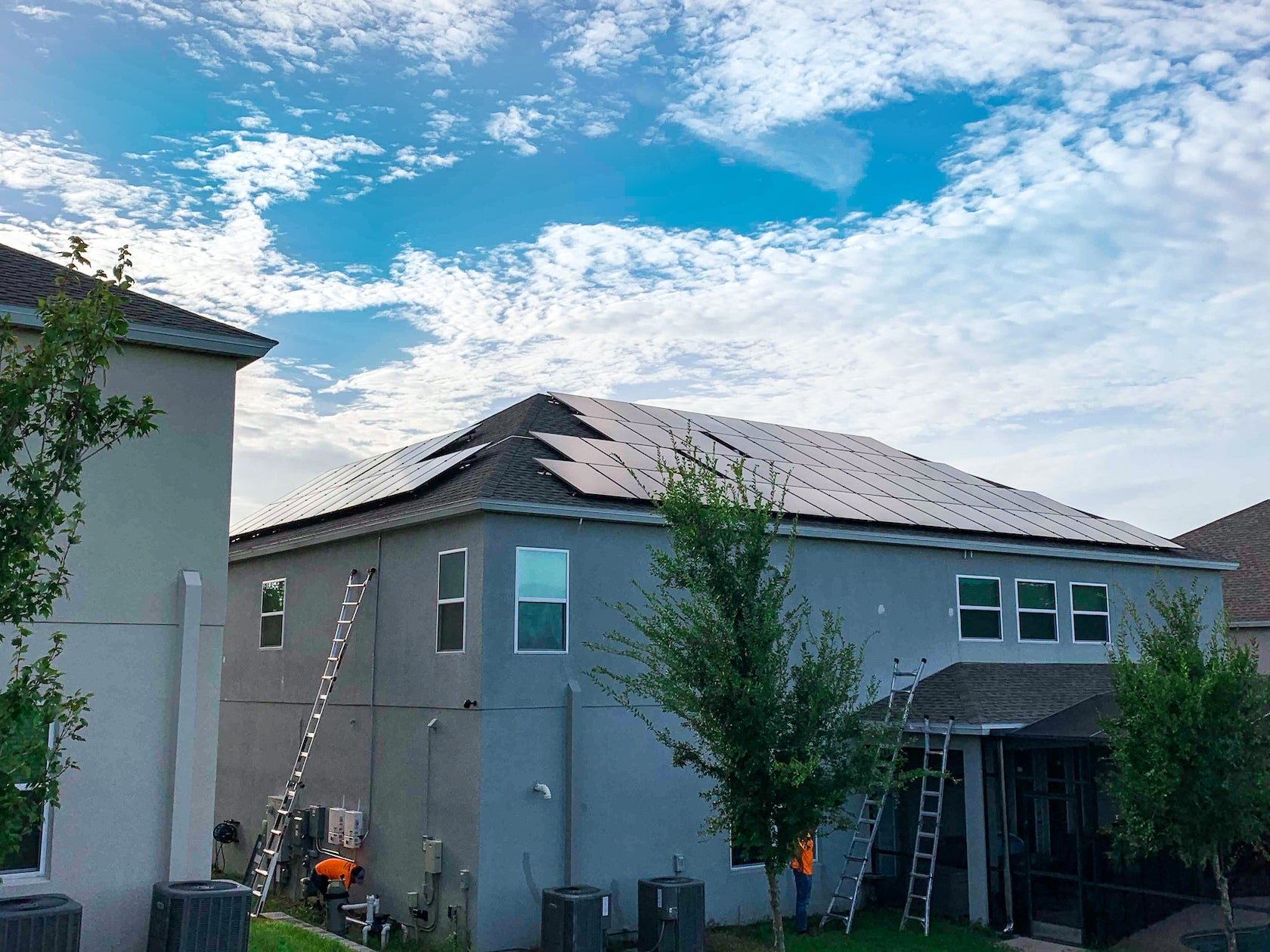 20.5 kW Roof Mounted PV System in Apopka, FL