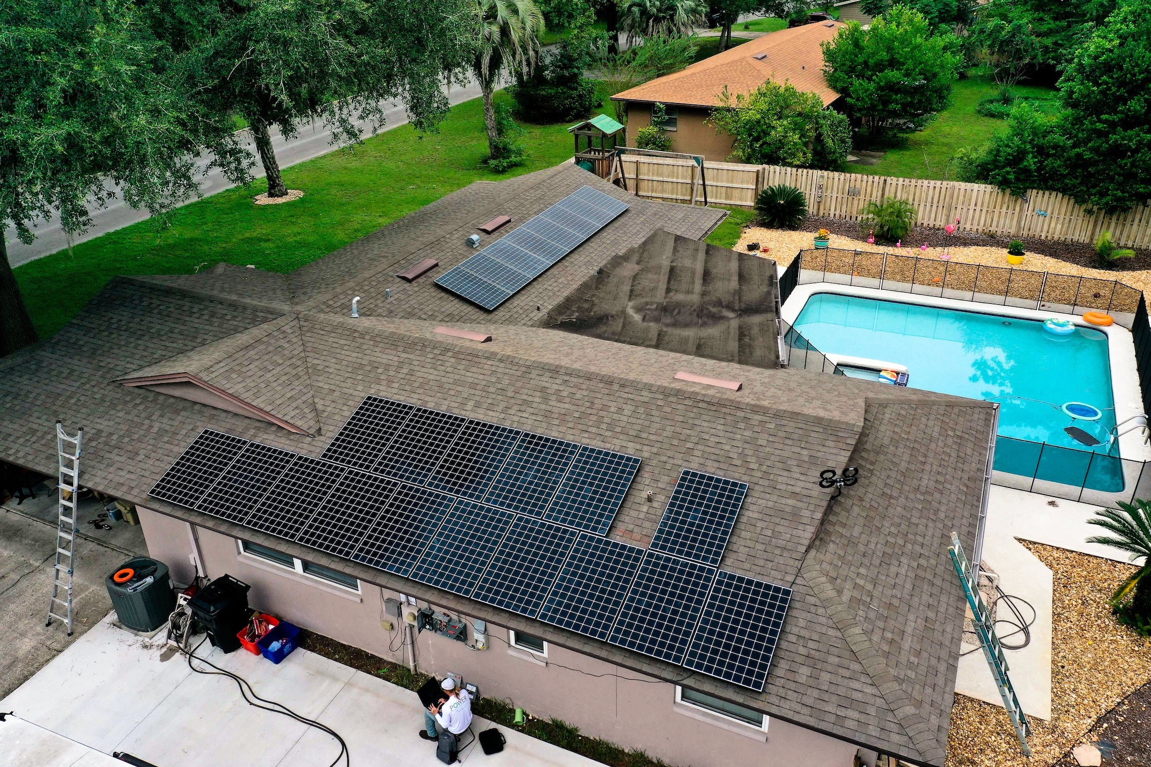 7.8 kW Roof Mounted PV System in Gainesville, FL