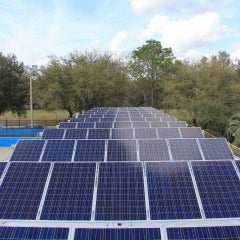 20 kW Customer Steel Structure Mounted PV System