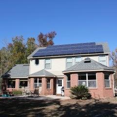 6.5 kW Roof Mounted PV System in Orange Park, FL